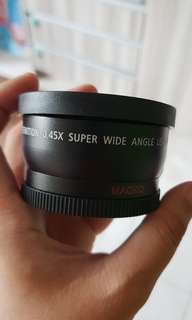 58mm wide angle and macro converter