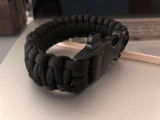 Paracord cord rope bracelet strap outdoor everyday errand
