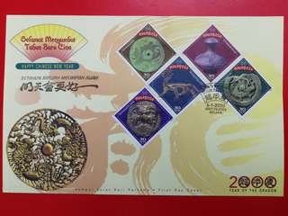 Year 2000 Year Of The Dragon Limited Edition First Day Cover