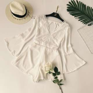 [NEW] White Jumpsuit