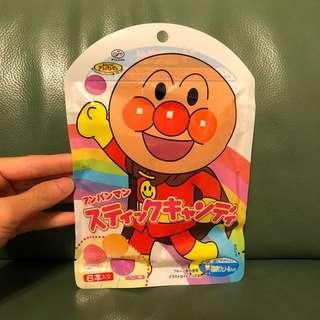 全新日本麵包超人棒棒糖1包6枝