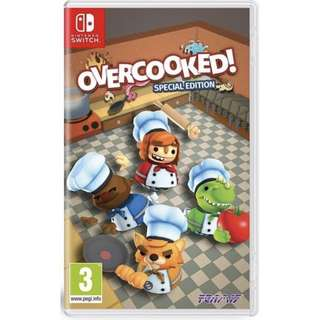 🚚 SALE BNIB Overcooked! Special Edition for Nintendo Switch Console
