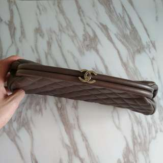 Chanel style clutch