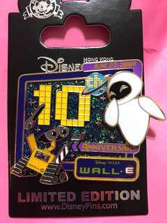 Disney pin wall-e LE500 襟章