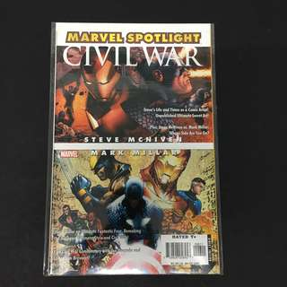 Marvel Spotlight 6 Civil War Comics Book Avengers Movie