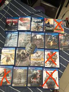 PS4 Games switch