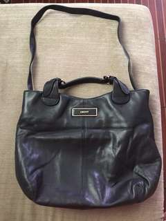 DKNY Leather Black Bag
