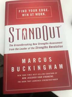 Brand new book - Stand Out