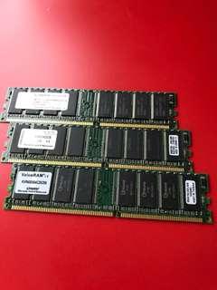 電腦記憶體 256x3