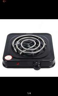 Hot Plate Single Electric Stove (Black)