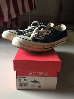 converse 70s low size 8,5 uk / 27 cm