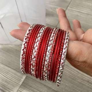 Vintage Red Indian Bracelet