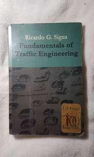 Fundamentals of Traffic Engineering by Sigua