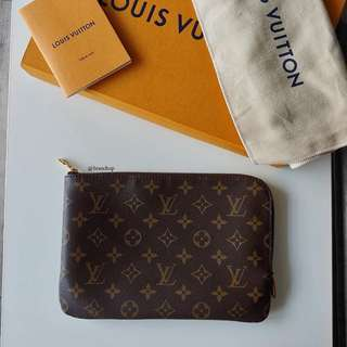 Authentic Louis Vuitton Monogram Etui Voyage PM M44191 LV