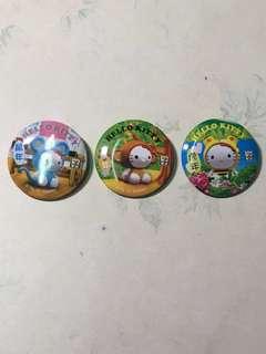 7-11 Hello Kitty 生肖扣章