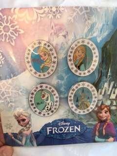 迪士尼襟章冰雪奇緣套裝pins