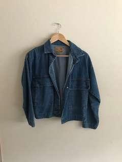 Beginning boutique denim jacket