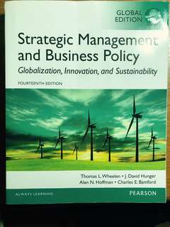 Strategic Management and Business Policy (Wheelen, Hunger, Hoffman & Bamford)