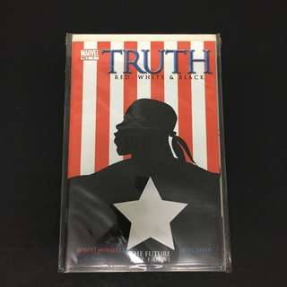 Truth: Red, White & Black 1 Marvel Comics Book TV Movie