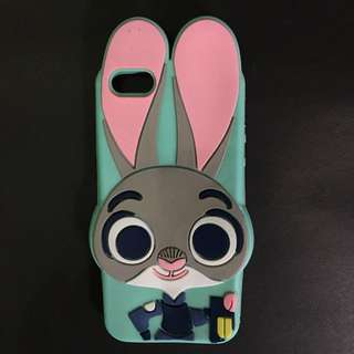 Iphone 5/5s Judy Hopps Zootopia Silicone Softcase