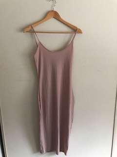 Misguided slip dress