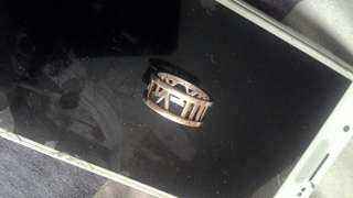 Vintage Tiffany & Co 925 Silver Ring..