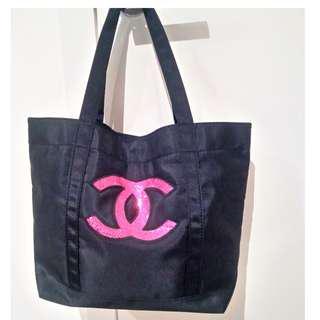 Chanel Vip Sequin Tote Bag