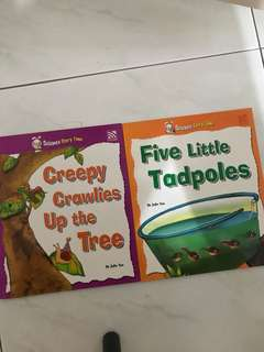 Children Books Science Story Books about Butterfly and Tadpoles
