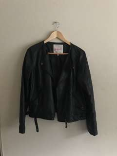 Supre leather jacket size 14