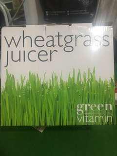 Wheatglass juicer