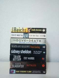 [3 FOR $12]Crime Novels