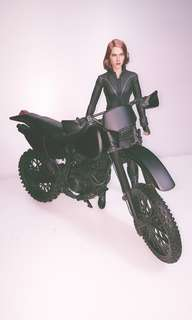 1/6 Dirtbike for Action Figuers BLACK