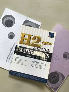 H2 Math summary / TYS  / Revision package