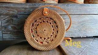 AUTHENTIC Rattan bags from Bali, Indonesia
