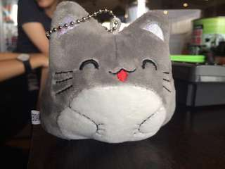 Grey Cat Stuffed Toy