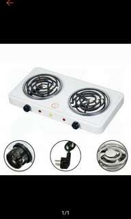 Portable Electric Stove (Double) Hot Plates (Ships in 5-7days)
