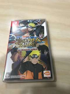Naruto trilogy for Nintendo switch