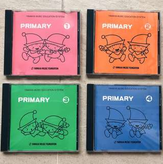 Yamaha Music Education System Primary 1-4