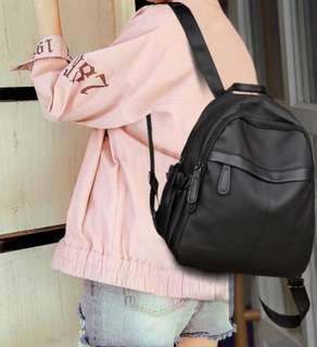 PO Oxford Cloth Canvas Waterproof Backpack