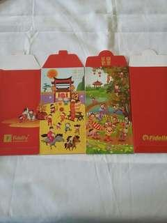 4 pcs *Fidelity* Red Packet / Ang Pow/ Hong Bao / Ang Bao