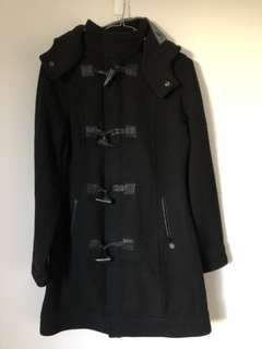 All About Eve black coat size 8