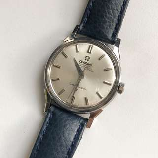Omega constellation stainless steel dogleg case 168.005