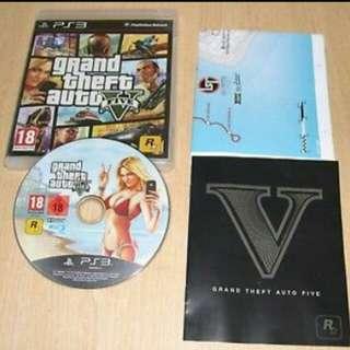 PS3 game GTA5