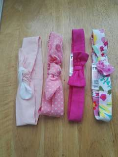 Assortes baby girl head band