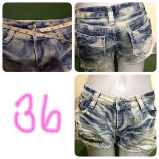 Denim Short 36