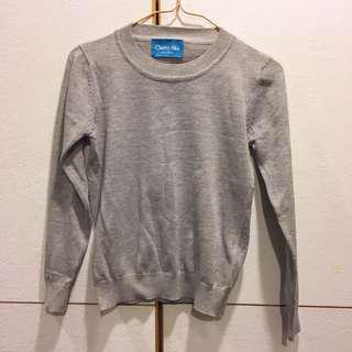 韓國製🇰🇷灰色針織衫