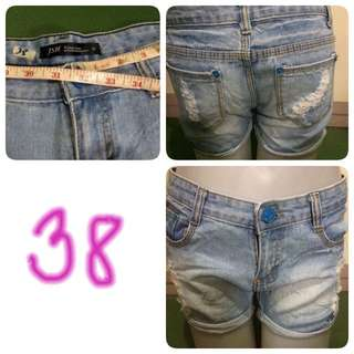 Denim Short 38