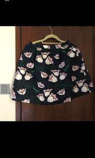 Bread n Butter 花花半截裙 skirt size 0