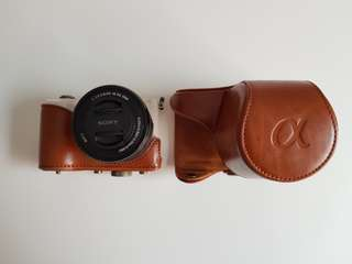 LEATHER CASE SONY α5000 / α5100