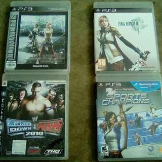 PS3 original game (JJ)